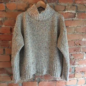 EUC J Crew mockneck sweater